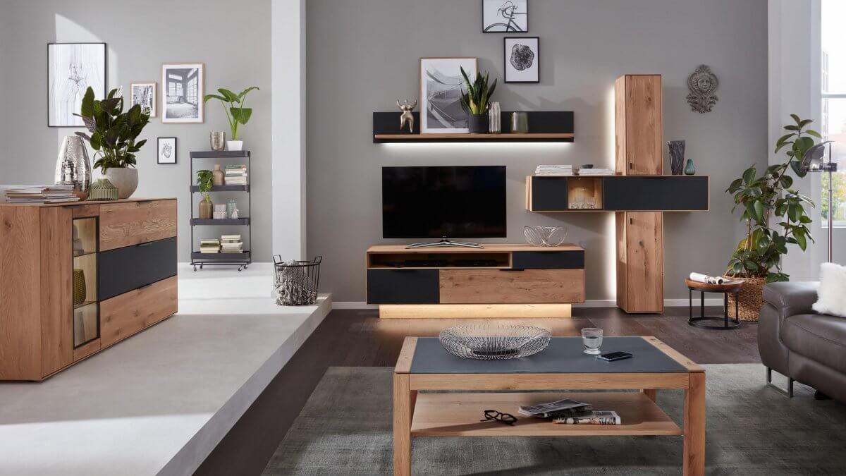 Wohnwände und Couchtische - Möbelhaus Hermes